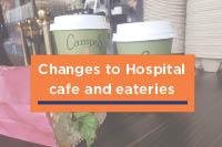 Cafes offer takeaway options