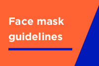 Tips for wearing a face mask