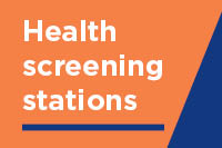Health screening stations open